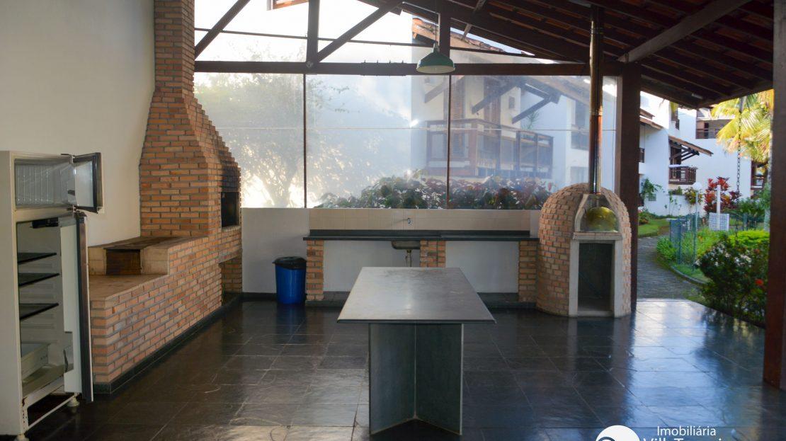 Apartamento para vender saco da ribeira ubatuba Churrasqueira