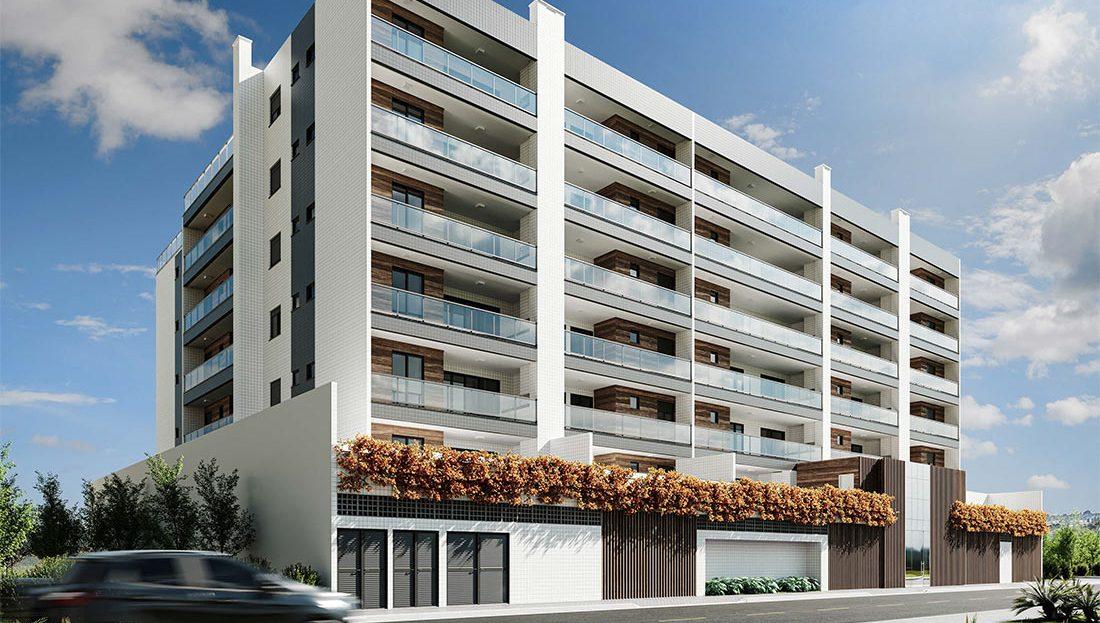 Lançamento Fachada Residencial Vie Saine - Praia das Toninhas