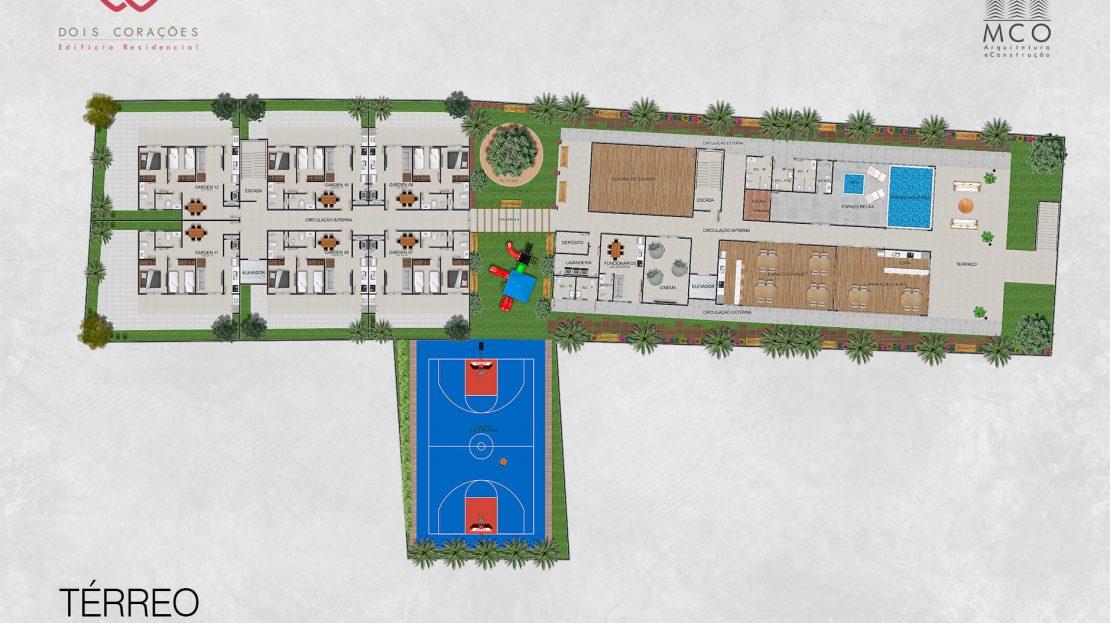 Localização Modelo Garden - Lancamento Dois Corações em Ubatuba apresentado pela Imobiliaria Villa Tenorio