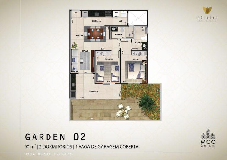 Lancamento Galatas em Ubatuba - Apart Garden 02