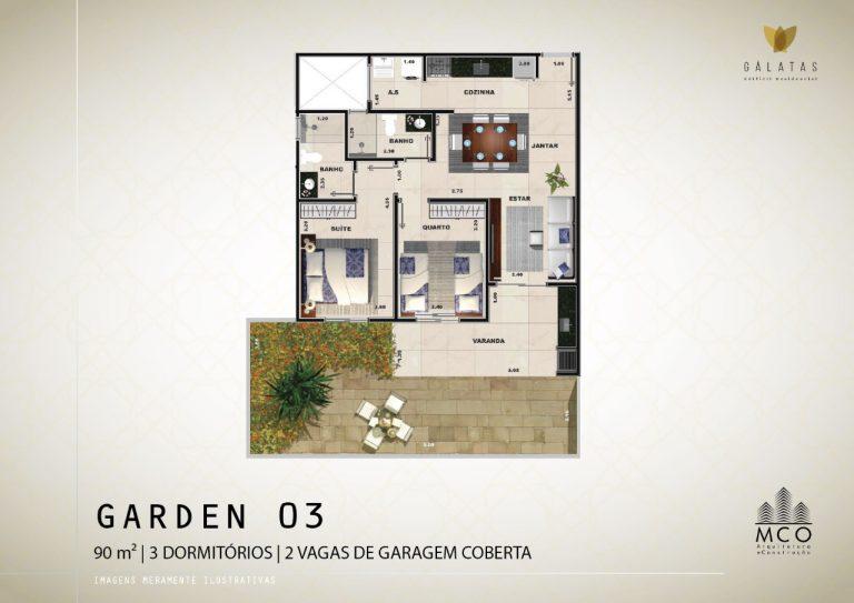 Lancamento Galatas em Ubatuba - Apart Garden 03