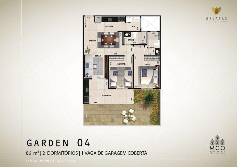 Lancamento Galatas em Ubatuba - Apart Garden 04