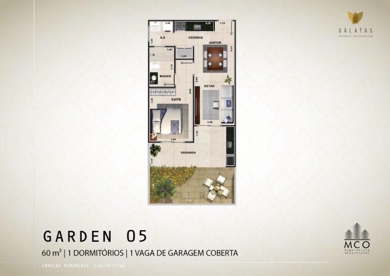 Lancamento Galatas em Ubatuba - Apart Garden 05