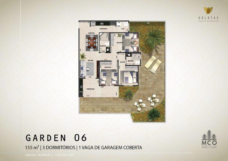 Lancamento Galatas em Ubatuba - Apart Garden 06