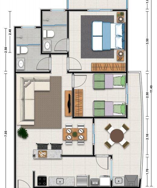 5 Apartamento Pre Lancamento Praia das Toninhas