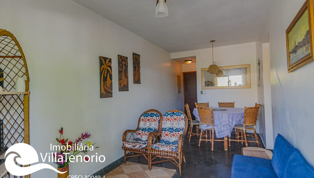 Apartamento para vender na Praia do Itaguá em Ubatuba SP, Imobiliária Villa Tenório