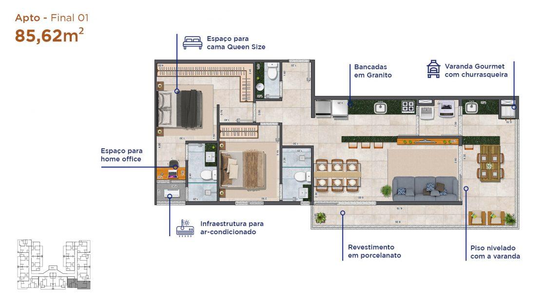 Apt final 01-Duomo-residencial-A3-Construtora-13