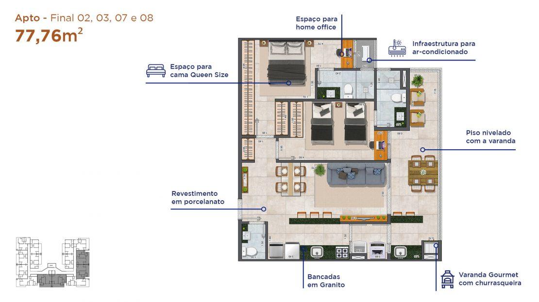 Apt final 02,03,07,08-Duomo-residencial-A3-Construtora-13