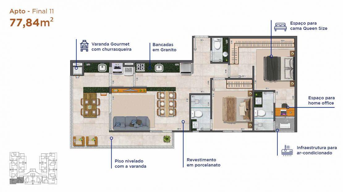 Apt final 11-Duomo-residencial-A3-Construtora