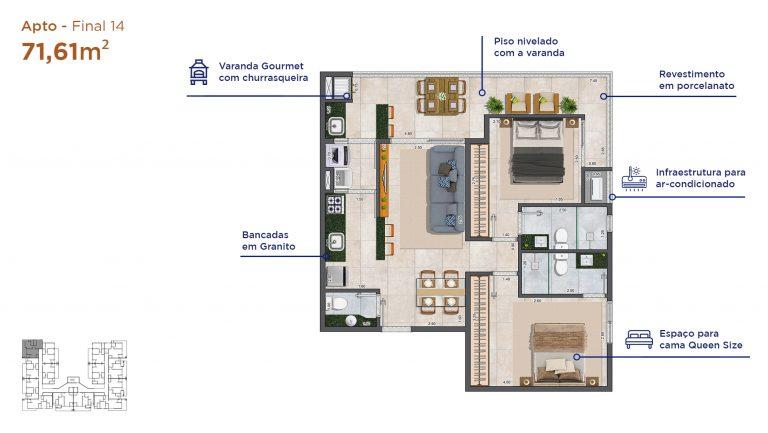 Apt final 14-Duomo-residencial-A3-Construtora