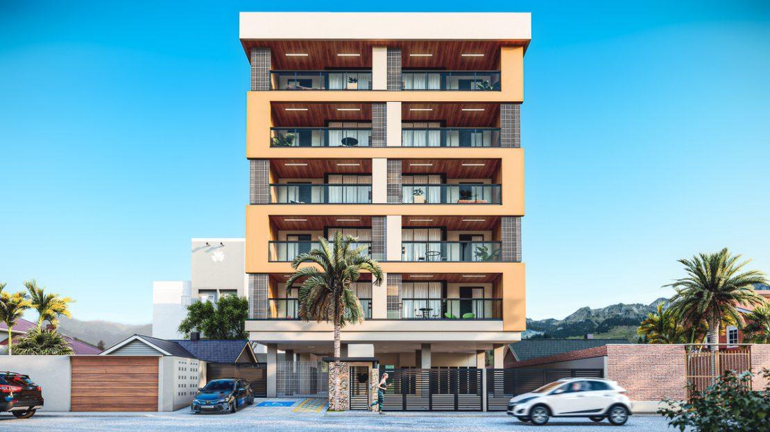 FACHADA-Citta di Vernazza- apartamento na planta_Ubatuba