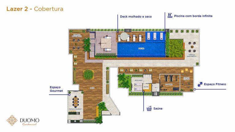 Lazer 2 Cobertura-Duomo-residencial-A3-Construtora