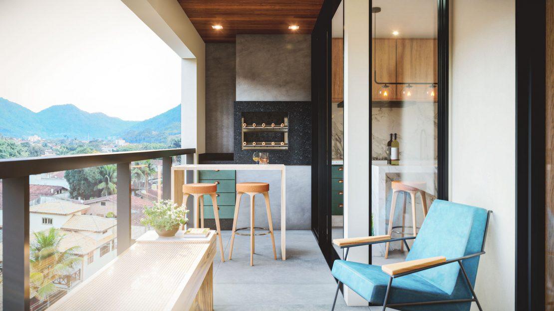Sacada Residencia Città di Montalcino_Lancamento Ubatuba