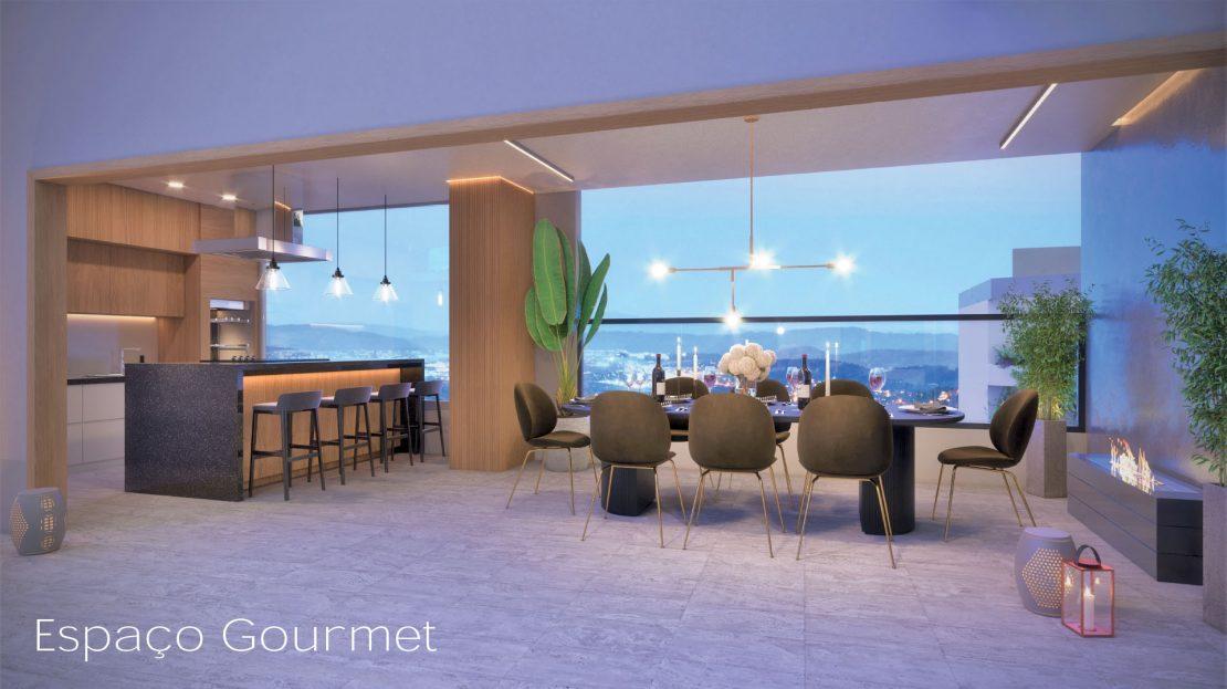 espaco gourmet - ON lofts em Ubatuba Apartamentos na Planta