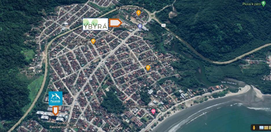 Lancamento Ybyra no Pereque Açu em Ubatuba