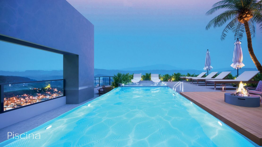 piscina - ON lofts em Ubatuba Apartamentos na Planta