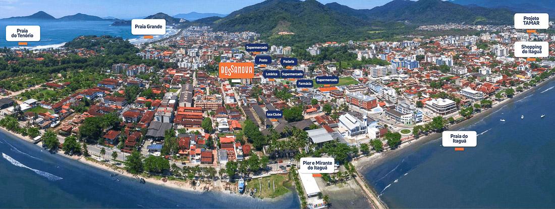 Lançamento Praia do Tenorio - Bossa Nova