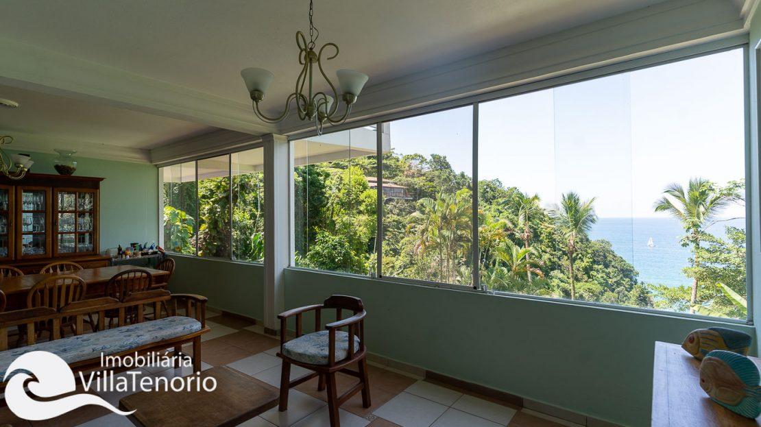 Casa condominio vista do mar Ubatuba Venda -25