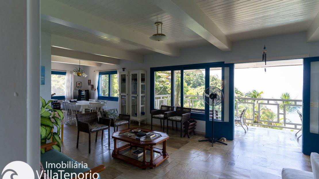Casa condominio vista do mar Ubatuba Venda -3