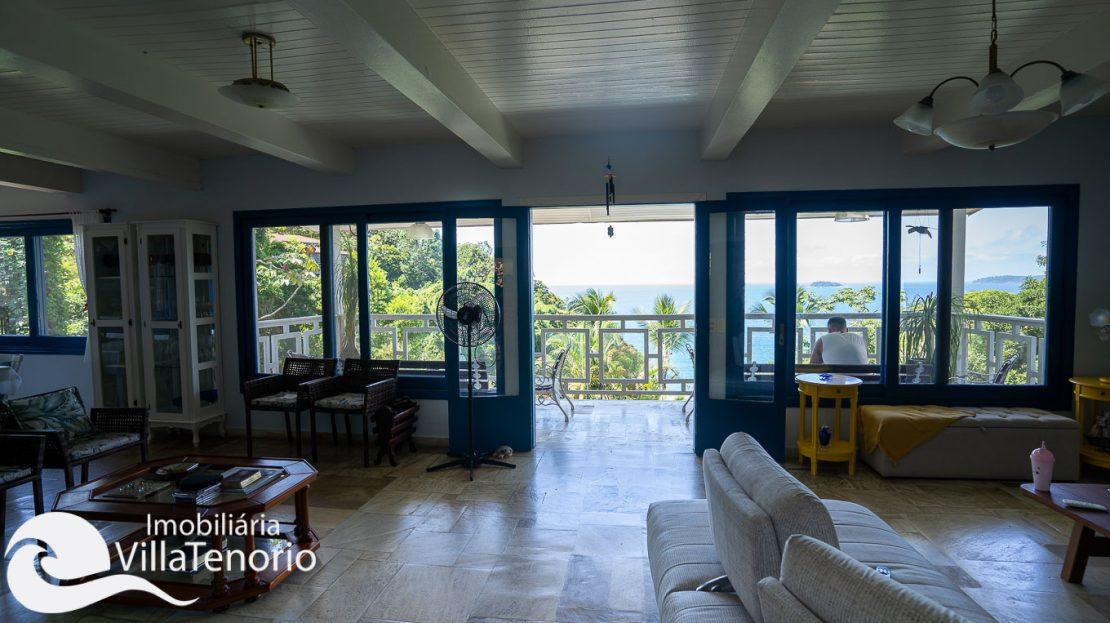 Casa condominio vista do mar Ubatuba Venda -4