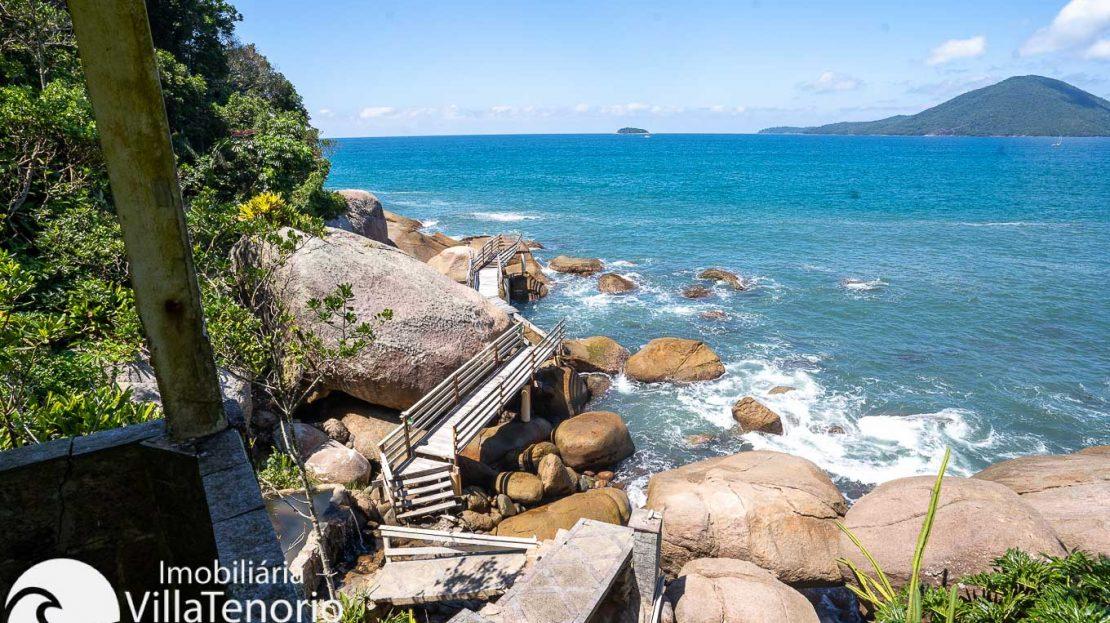 Casa condominio vista do mar Ubatuba Venda -45