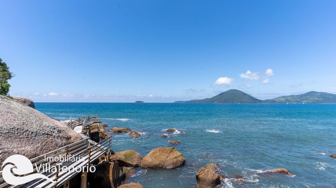 Casa condominio vista do mar Ubatuba Venda -55