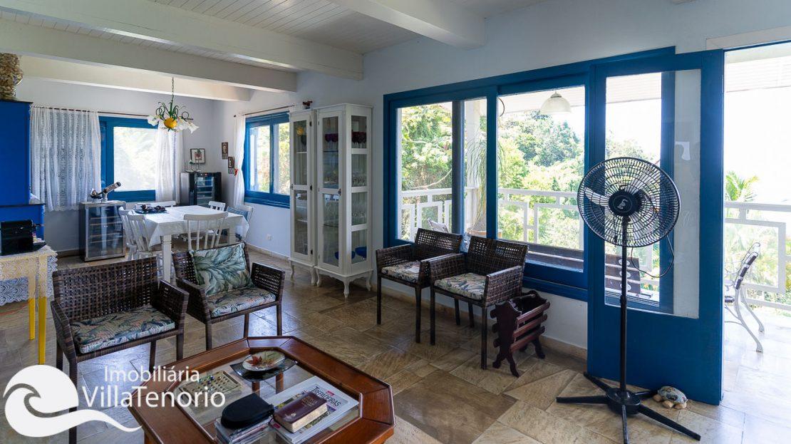 Casa condominio vista do mar Ubatuba Venda -6