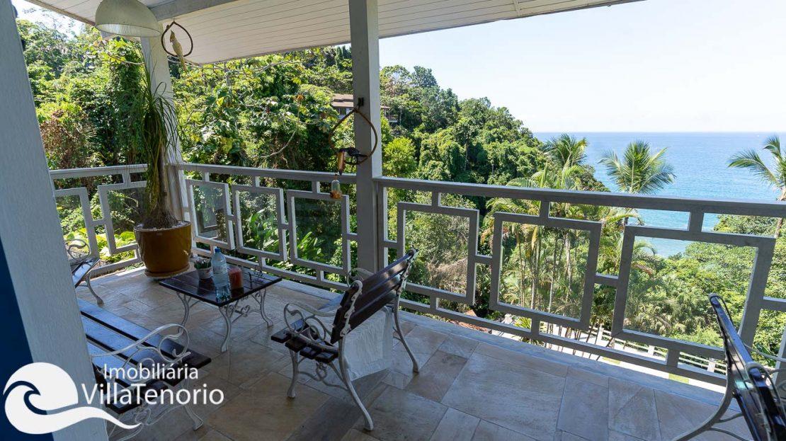 Casa condominio vista do mar Ubatuba Venda -7