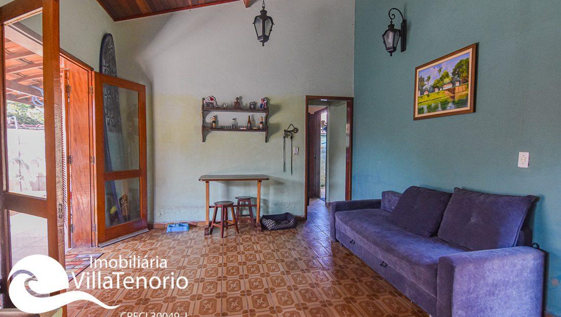 Casa para vender na Praia do Lázaro em Ubatuba-SP