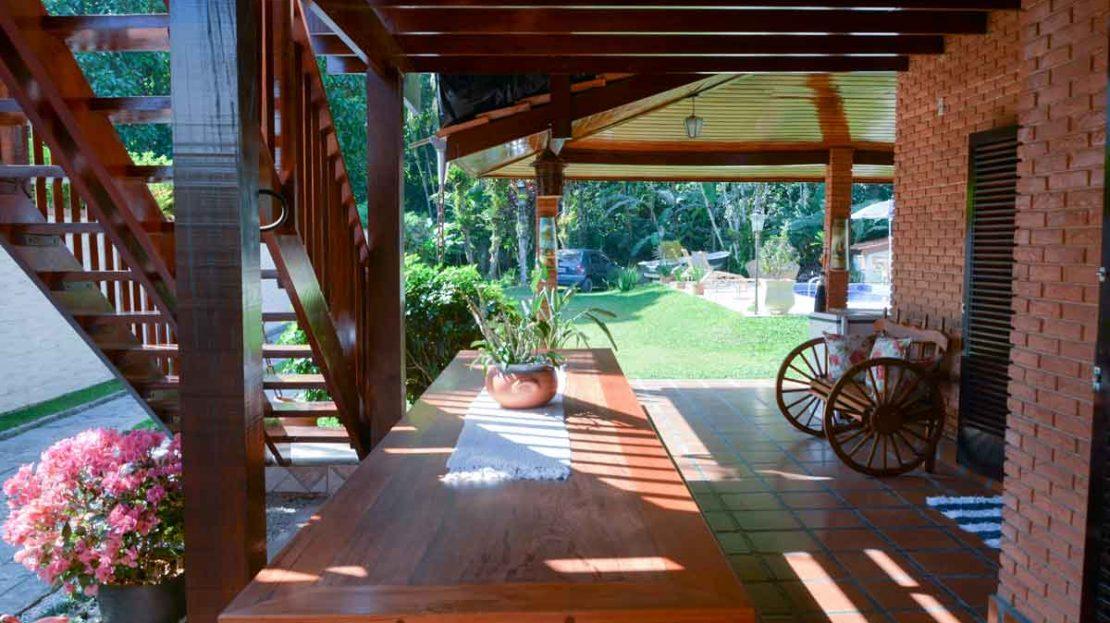 Casa Venda Praia do Tenorio, Ubatuba, SP - Varanda