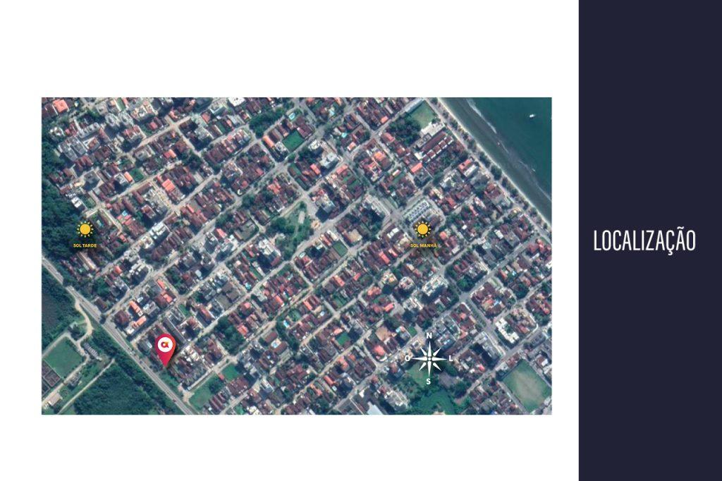 localizacao do edifico - apartamentos na planta para vender em Ubatuba na praia do. Itagua